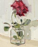 KATHRYN HAUG - Red Rose Leaning