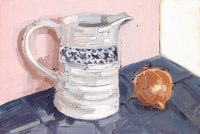 KATHRYN HAUG - Patterned Jug with Onion