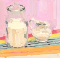 KATHRYN HAUG - Clear Jar with Creamer