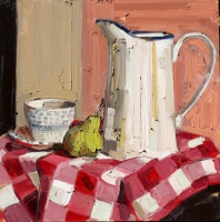 KATHRYN HAUG - Chequered Tablecloth