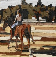 KATHRYN HAUG - Horse and Rider III