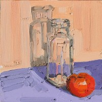 KATHRYN HAUG - Tomato and Empty Jar