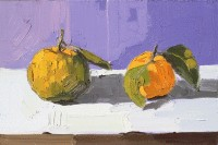 KATHRYN HAUG - Two Mandarins